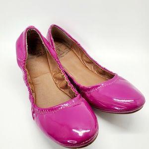 Lucky Brand Erin Purple Ballet Flats 7.5